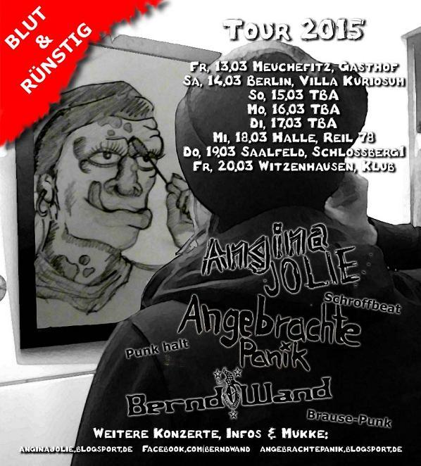 Plakat Tour